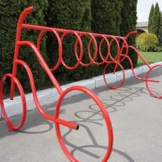 Велопарковка Дабл на 8 велосипедов