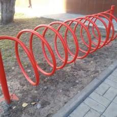 Велопарковка Пружина 8 велосипедов