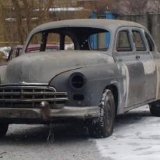 ЗИМ ГАЗ-12 на базе 600 мерседес 140 кузов