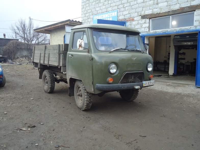 УАЗ бортовой сварка рихтовка кузова