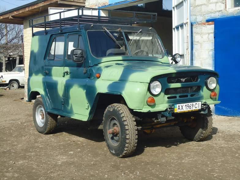 Реставрация сварка УАЗ 469