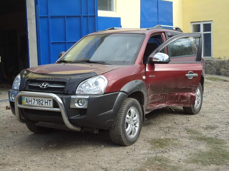 Hyundai Tucson сварка рихтовка