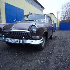 Волга ГАЗ М-21 реставрация ланжерон