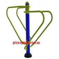 Брусья гимнастические металлические для двора БГМ-007 Дабл